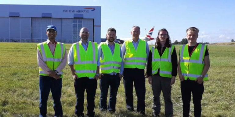Cardiff-Airport-Future-Flight-team